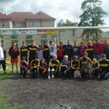 5.7.2011 mezinárodní turnaj v Jindřichově 1. místo