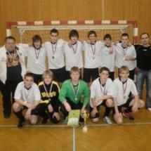 Turnaj Bystřice pod Hostýnem 22.1.2011 2.místo