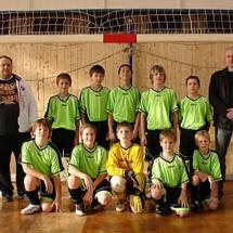 Turnaj 16.1.2011 pořádaný OFS Vsetín 1.místo