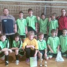 Turnaj mladších žáků Juřinka 26.2.2010 2 místo