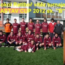 Vítěz turnaje FASTAV Cup 2012 sk. B